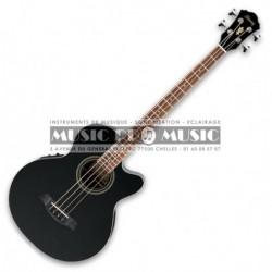Ibanez AEB8E-BK - Basse elec ac noire