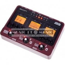 Zoom B3 - Pédalier MultiFX pour basse
