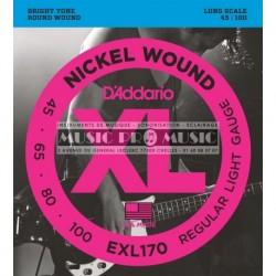D'Addario EXL170 - Jeu de cordes pour basse 45-100