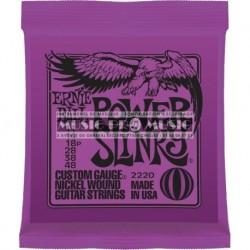 Ernie Ball 2220 - Jeu de cordes Slinky 11-48 pour guitare électrique