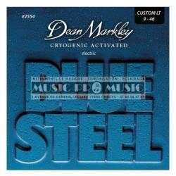 Dean Markley 2554 - Jeu de cordes Blue Steel 9-46 pour guitare électrique
