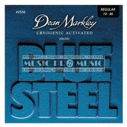 Dean Markley 2556 - Jeu de cordes Blue Steel 10-46 pour guitare électrique