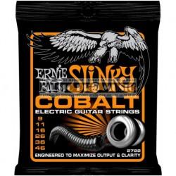 Ernie Ball 2722 - Jeu de cordes Cobalt 9-46 pour guitare électrique