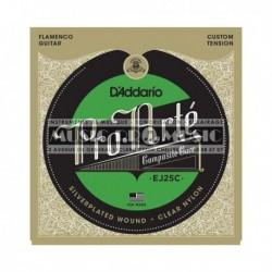 D'Addario EJ25C - Jeu de cordes Composite Tension Hard nylon clair pour guitare classique flamenco