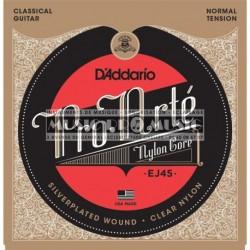 D'Addario EJ45 - Jeu de cordes Pro Arte Tension Normale pour guitare classique