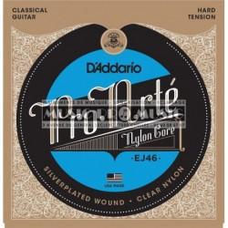 D'Addario EJ46 - Jeu de cordes Pro Arte Tension Forte pour guitare classique