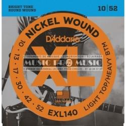 D'Addario EXL140 - Jeu de cordes 10-52 pour guitare électrique