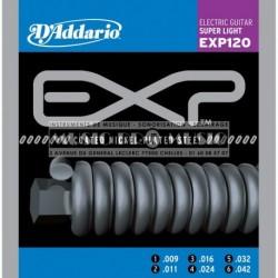 D'Addario EXP120 - Jeu de cordes Coated 9-42 pour guitare électrique