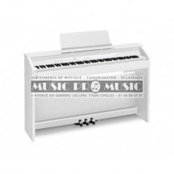 Casio PX-860WE - Piano numérique blanc satiné avec meuble