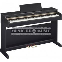 Yamaha YDP-162B - Piano numérique noir satiné avec meuble