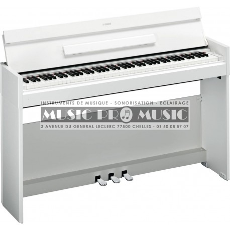 Yamaha YDP-S51WH - Piano numérique blanc satiné avec meuble