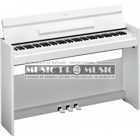 Yamaha NYDPS52WH - Piano numérique blanc satiné avec meuble