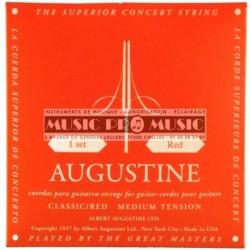 Augustine ROUGE - Jeu de cordes Tension Normale pour guitare classique