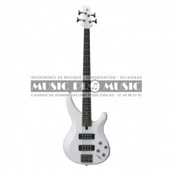 Yamaha TRBX304WH - Basse électrique blanche