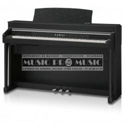 Kawai CA67B - Piano numérique noir satiné avec meuble