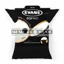 Evans EQPAD - Muffler pour grosse caisse
