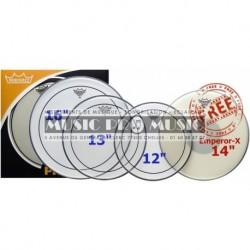 "Remo PP-0680-PS - ProPack (Pinstripe transparente 12"" 13"" 16""+ BX-0114-00 gratuite"
