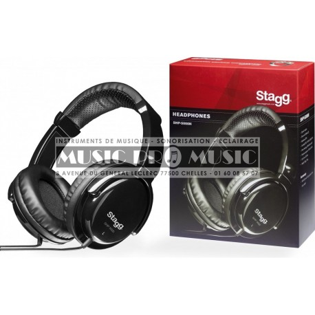 Stagg SHP-5000H - Casque professionnel de monitoring