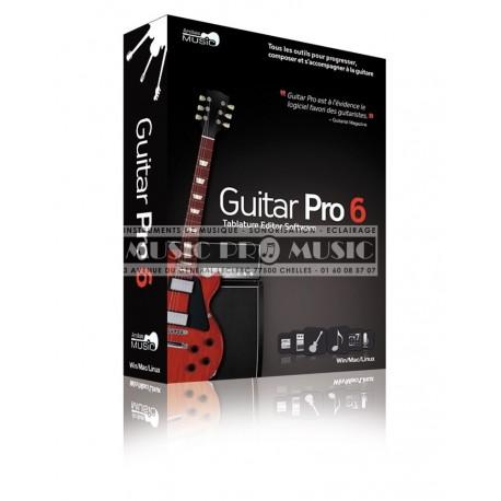 IPE Music GTPRO6FR - Logiciel Guitar Pro 6