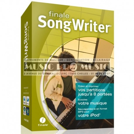 IPE Music SONGWRITER - Logiciel Songwriter 2012