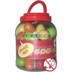 Stagg EGG-BOX1 - Shaker oeuf couleur