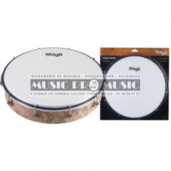 Stagg HAD-012W - Hand Drum 12-- peau synthétique