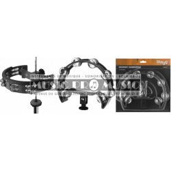 Stagg TAB-D-BK - Tambourine pour hit-hat
