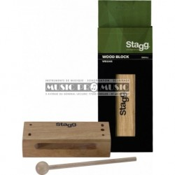 Stagg WB326S - Woodblock large
