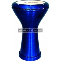 Vatan 3026 - Darbouka égyptienne bleu laqué