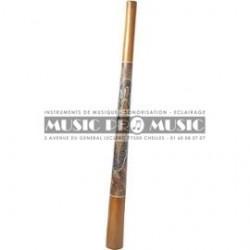 Roots ZJ - Didgeridoo Teck peint