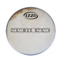 """Izzo IZ6647 - Peau tambourin sertie 10"""""""