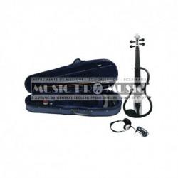 Gewa 401646 - Violon électrique blanc 4/4 + softcase