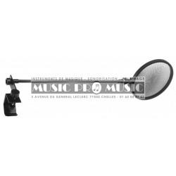 Stagg PMCOH - Filtre acoustique anti-pop pour micro de studio entièrement réglable