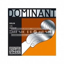 Thomastik 633625 - Jeu de cordes pour violon 4/4 Dominant Med135