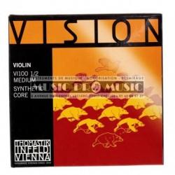 Thomastik 634165 - Jeu de cordes pour violon 1/2 Vision Med100
