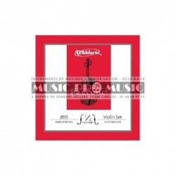 D'Addario J810-12M - Jeu de cordes pour violon 1/2 medium