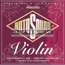 Rotosound RS6000 - Jeu de cordes pro pour violon pro 3/4 4/4
