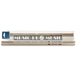 Stagg SMTI - Baguettes timbales erable