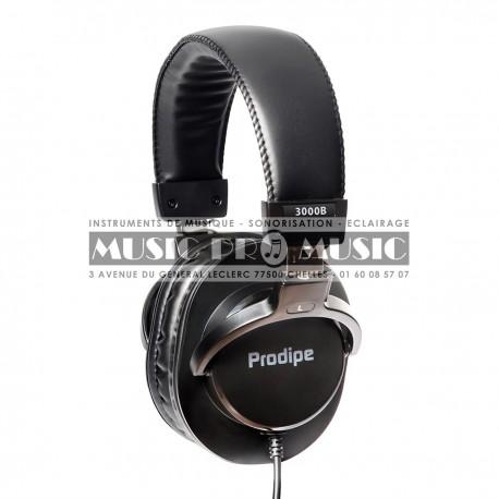 Prodipe 3000B - Casque audio DJ noir