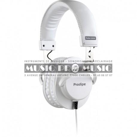 Prodipe 3000W - Casque audio DJ blanc
