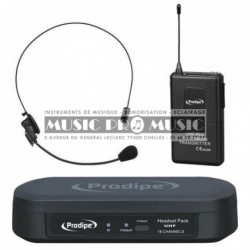 Prodipe UHFHEAD100 - Micro casque UHF sans fil
