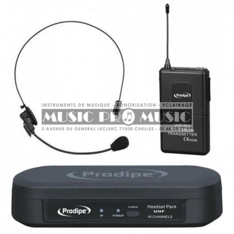 Prodipe PROUHFHEAD100 - Micro casque UHF sans fil