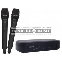 Prodipe UHFTT100-DUO - Double micros UHF sans fil