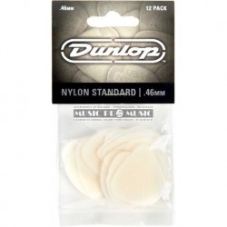 Dunlop 44P46 - 12 Mediators Nylon 46mm
