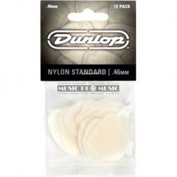 Dunlop 44P46 - 12 Mediators Nylon 46mm