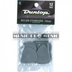 Dunlop 44P73 - 12 Mediators Nylon 73mm