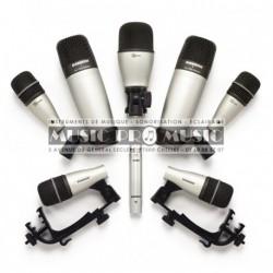 Samson 8-KIT - Kit de 8 micros pour batterie