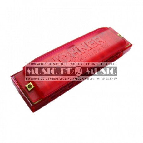 Hohner M5154 - Harmonica Happy Red