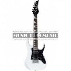 Ibanez GRGM21GB-WH - Guitare électrique blanche micro