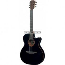 Lâg T100ASCE-BLK - Guitare électro-acoustique slim noire